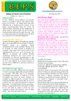 Newsletter – 2019 Issue 02 – 5th February – 2019