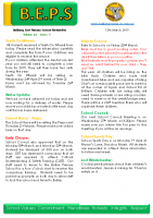 Newsletter – 2019 Issue 07 – 13th March – 2019