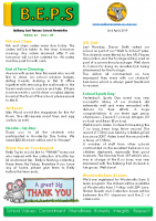 Newsletter – 2019 Issue 10 – 2nd April – 2019