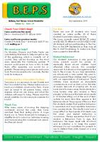 Newsletter – 2019 Issue 29 – 3rd September – 2019