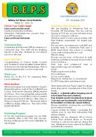 Newsletter – 2019 Issue 38 – 19th November – 2019