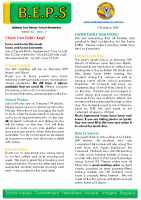 Newsletter – 2020 Issue 07 – 11th March – 2020