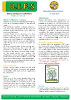 Newsletter – 2020 Issue 11 – 21st April – 2020