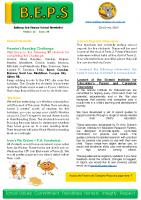 Newsletter – 2020 Issue 19 – 23rd June – 2020