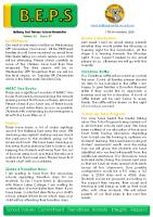 Newsletter – 2020 Issue 37 – 17th November – 2020