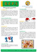 Newsletter – 2020 Issue 38 – 24th November – 2020