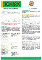 Newsletter – 2020 Issue 41 – 15th December – 2020