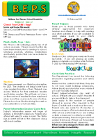 Newsletter – 2021 Issue 02 – 9th February – 2021