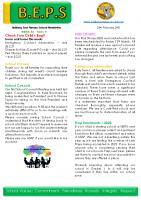 Newsletter – 2021 Issue 04 – 23rd February – 2021