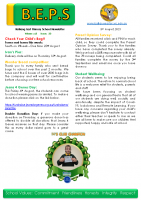 Newsletter – 2021 Issue 23 – 3rd August – 2021