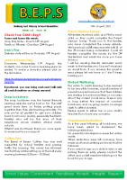 Newsletter – 2021 Issue 24 – 10th August – 2021