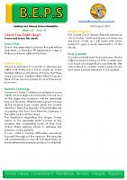 Newsletter – 2021 Issue 27 – 31st August – 2021