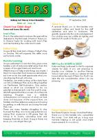 Newsletter – 2021 Issue 28 – 7th September – 2021